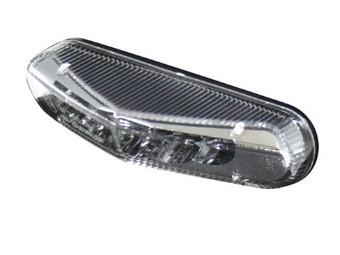 LED-Ruecklicht, Klarglas, E-gepr.