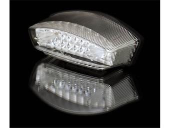 LED-Rücklicht MONSTER, transparent, E-gepr.