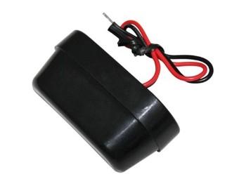 LED-Nummernschildbel., ABS schwarz, E-gepr.