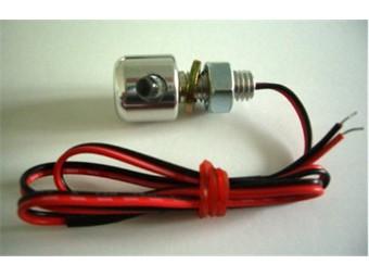 Leuchtschraube LED, Alu, silber, D= 16 x 15 mm