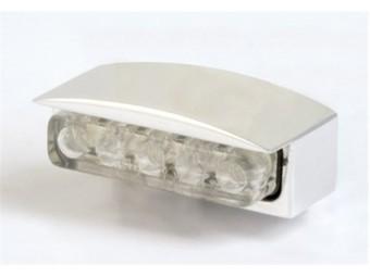Mini-LED-Nummernschildbel., Alu-Gehaeuse silber