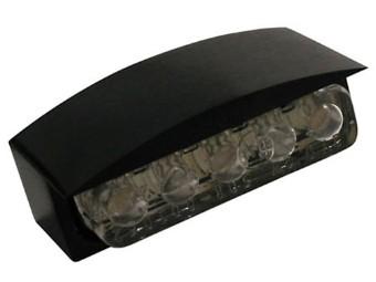 Mini-LED-Nummernschildbel.m. Alu-Gehaeuse schwarz