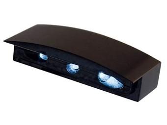 Micro-LED-Nummernschildbel., Alu-Gehaeuse schwarz