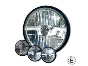"LED-Scheinwerfer ""Flash"" 7 Zoll"