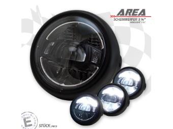 LED Scheinwerfer Area schwarz