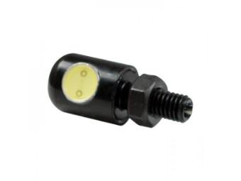 SMD-Kennzeichenbeleuchtung, schwarz, Alu, e-geprüft