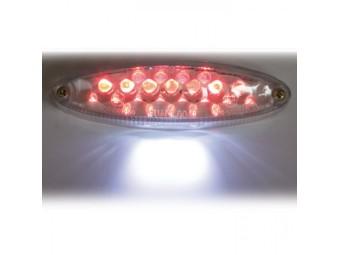 LED-Rücklicht-Mini, mit KZB, klar, E-geprüft