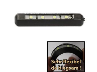 Kennzeichenbeleuchtung biegsam