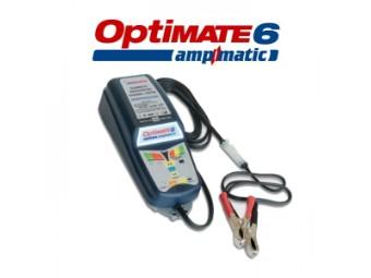 """Batterieladegerät OptiMate 6 """"Ampmatic"""", (SAE) geeignet bis zu 240Ah"""