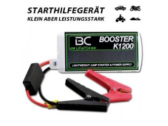 Booster BC K1200 LiFePO4-Technologie 100% sicher
