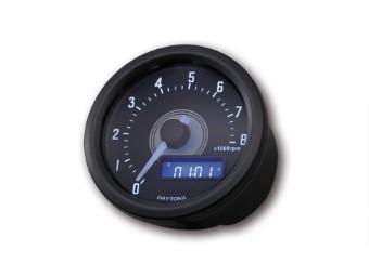 Digitaler Drehzahlmesser VELONA, schwarz, bis 8000 U/min