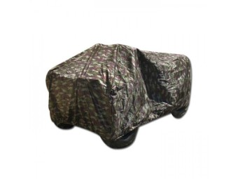 Abdeckplane ATV, Polyester, Größe: XL, Camouflage
