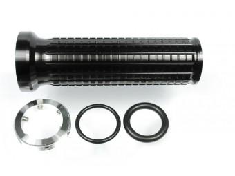 Aluminium Griffe m-Grip schwarz für 22mm und 1 Zoll Lenker