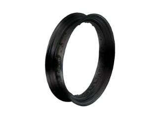 BLACK DROPCENTER RIM, 3.00 X 16