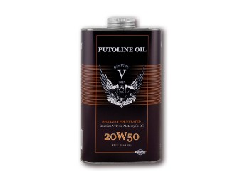 V-TWIN MOTORCYCLE OIL SAE 20W50