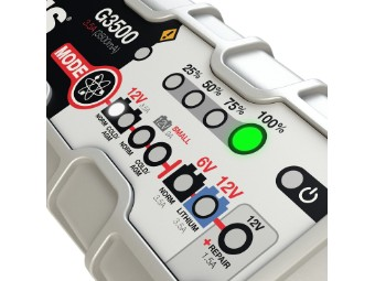 Batterieladegerät G3500 für 6 und 12V Batterien