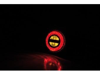 LED Blinker mit Rücklicht Bremslicht ROCKET BULLET