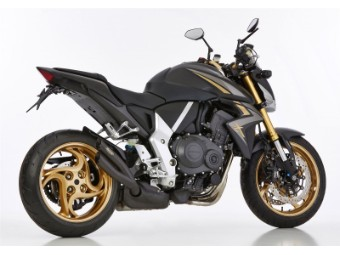 Auspuff Honda CB1000R 08-16 schwarz matt