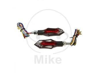 Miniblinker LED mit Rücklicht und Bremslicht