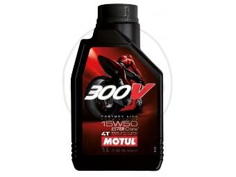 300V 4T Factory Line Road Racing 15W50 Motoröl