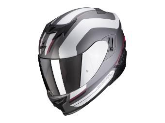 Helm EXO 520 Air Lemans matt schwarz silber