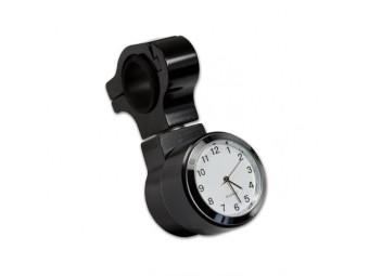 Lenker Quartz Uhr schwarz für Zoll Lenker