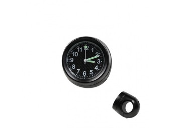 Lenker Quartz Uhr schwarz, Ziffernblatt Carbon