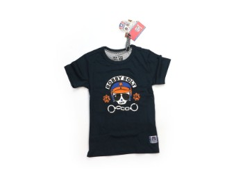 Kinder T shirt navy blau