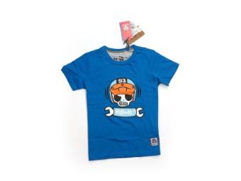 Kinder T shirt blau