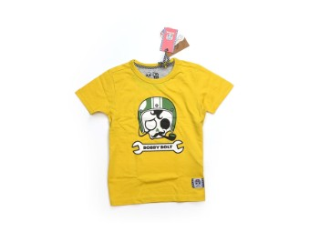 Kinder T shirt gelb