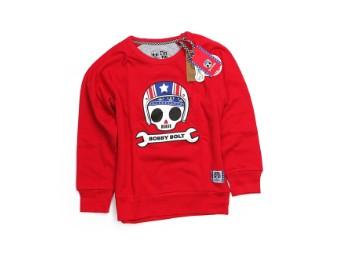 Kinder Pullover rot