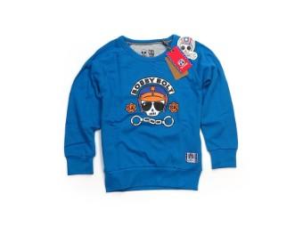Kinder Pullover blau