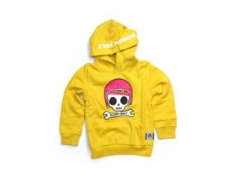 Kinder Pullover gelb
