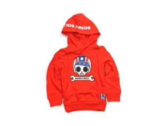 Kinder Pullover orange