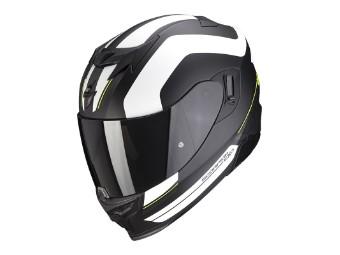 Helm EXO 520 Lemans schwarz matt silber