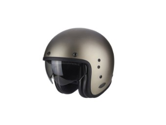Motorradhelm Jethelm BELFAST Solid Titanium Gr.L Helm