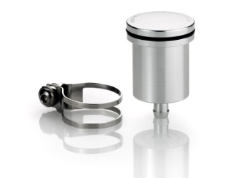 Flüssigkeitsbehälter silber