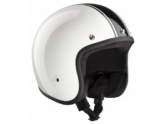 ECE Jet 2 CLASSIC Helm weiß/schwarz