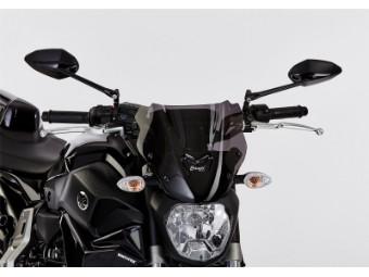 Naked Bike Scheibe MT07 MT 07 schwarz