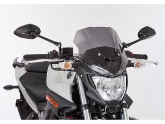Naked Bike Scheibe MT03 schwarz