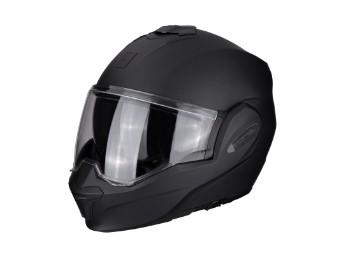 Motorradhelm EXO Tech schwarz matt