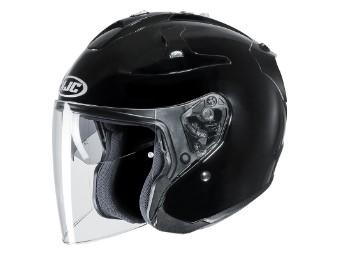 JET Helm FG JET noir metal black Gr.XL schwarz Motorradhelm JETHELM