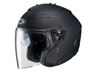 Helm IS33 II JETHELM schwarz Gr.L Motorradhelm Helm JET
