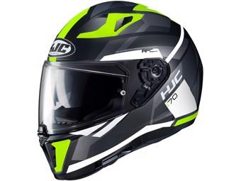 Motorradhelm i70 ELIM MC4HSF  Helm schwarz gelb weiß UVP 249,-