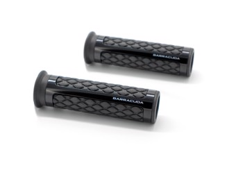 Lenkergriffe Classic schwarz 22mm