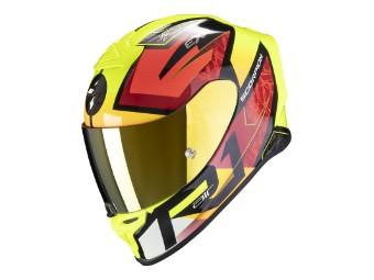 EXO R1 AIR INFINI Schwarz Rot Gelb