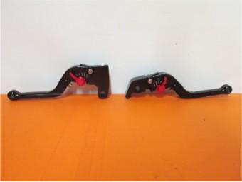 Paar Hebel schwarz Speed Triple Thruxton Scrambler