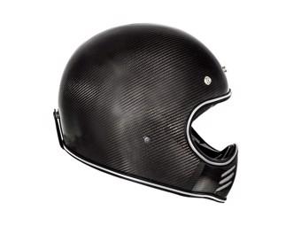 Motorradhelm MX Carbon schwarz