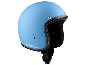 Jet Helm Premium blau