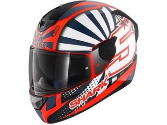 Motorradhelm D Skwal 2 ZARCO orange